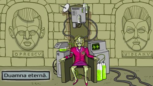 Caricatura-Gabriela-Firea-Bucuresti