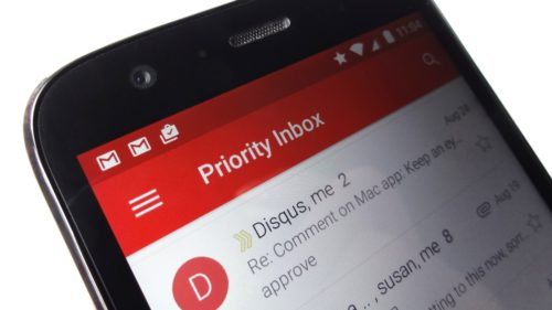 Gmail notificari prioritare