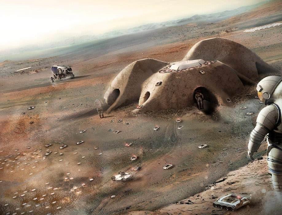 Locuințe Marte 1