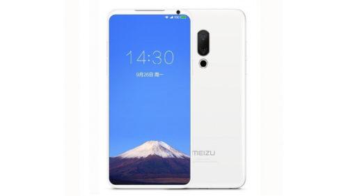 Acest telefon Meizu ar putea fi cel mai tare model cu rame inexistente