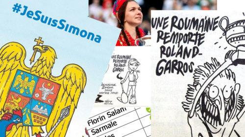 Meme în apărarea lui Halep: cum au glumit românii pe seama caricaturii