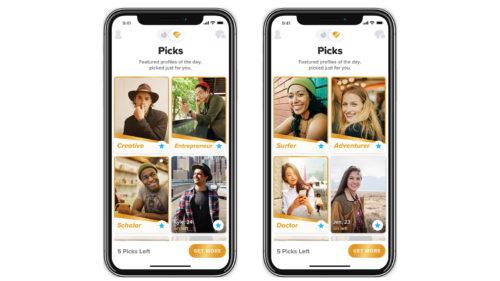 Schimbări la Tinder, cea mai cunoscută aplicație de agățat online