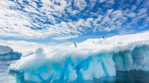 Sub Antarctica e un vulcan care transformă radical continentul