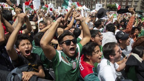 Cutremurul provocat de fanii mexicani în timpul meciului de la Cupa Mondială