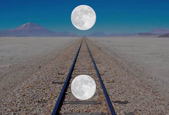 iluzie luna