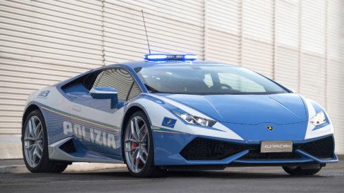 Un Lamborghini care îți taie respirația, furat în Germania, parcat aiurea la Constanța