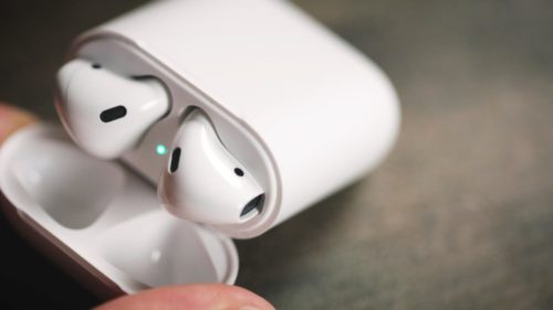 apple airdpods casti wireless