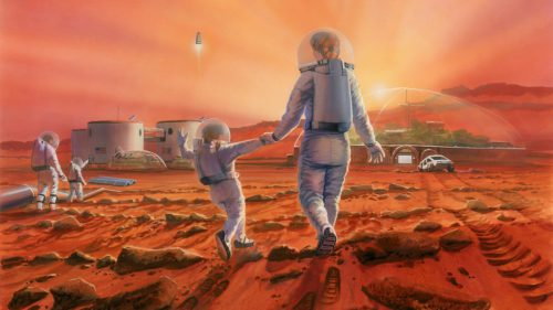 Dacă ajungem pe Marte așa ar putea arăta locuințele de acolo