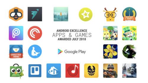 Aplicațiile anului pentru Android intră în lista de excelență