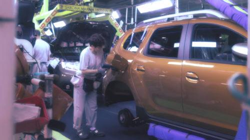 VIDEO Cum se fabrică Dacia Duster în România, de la nimic la testul final