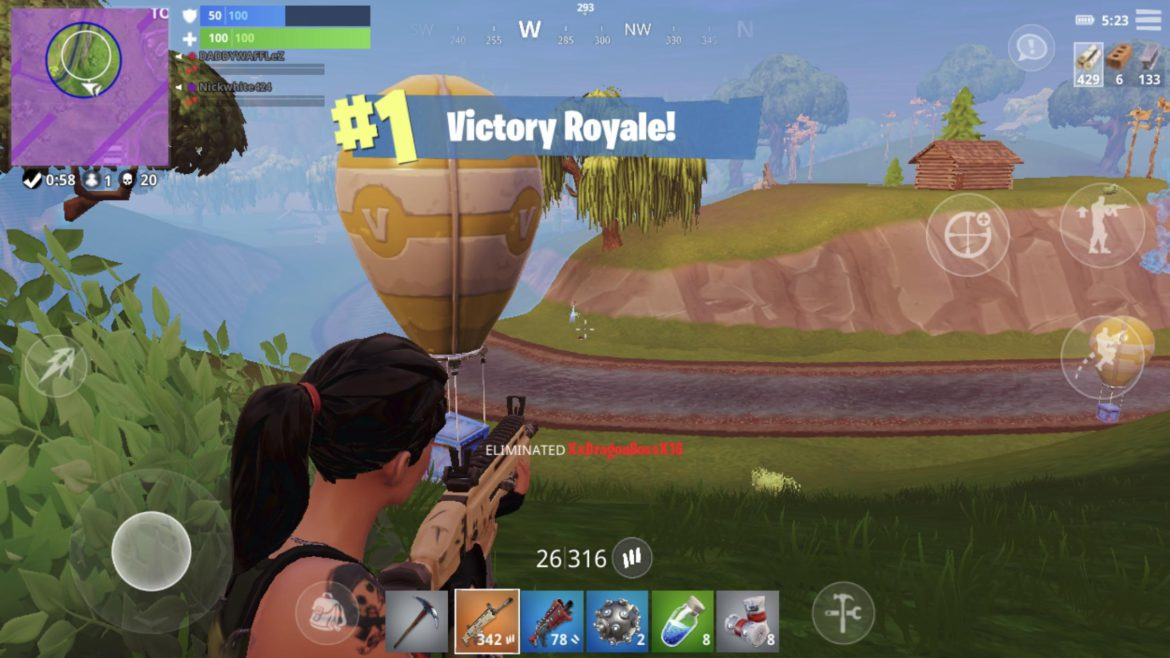 - fortnite android a8