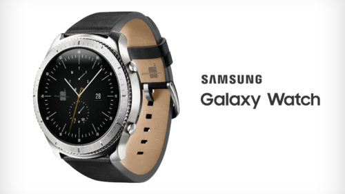 Samsung pregătește Galaxy Watch, un ceas futurist contra Apple Watch
