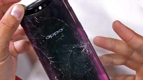 Cel mai tare telefon chinezesc pică grațios testul de rezistență
