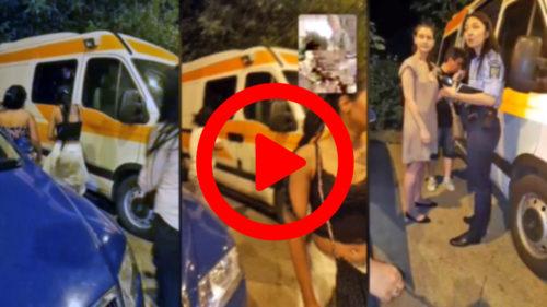 """România fără carte a dat peste """"ambulanța neagră"""" și s-a lăsat cu violență"""