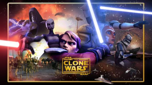 Star Wars the Clone Wars revine pe micile ecrane