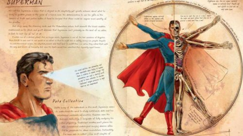 Anatomia supereroilor ca Batman și Superman e fascinantă