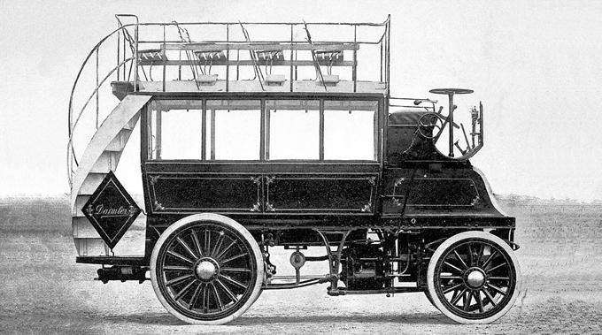 primul autobuz benz