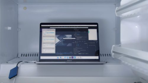 macbook pro core i9 frigider
