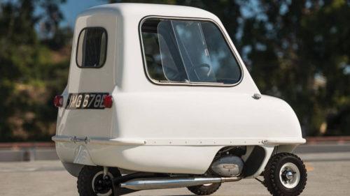 Cea mai mică mașină ar fi perfectă în traficul din București