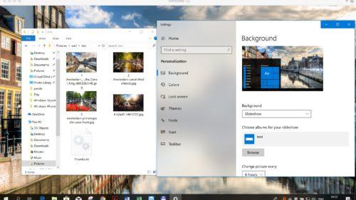 trucuri Windows cum schimba poza de tapet in functie de momentul zilei