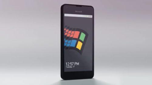 Windows 95 pe telefon e sistemul de operare pentru nostalgici
