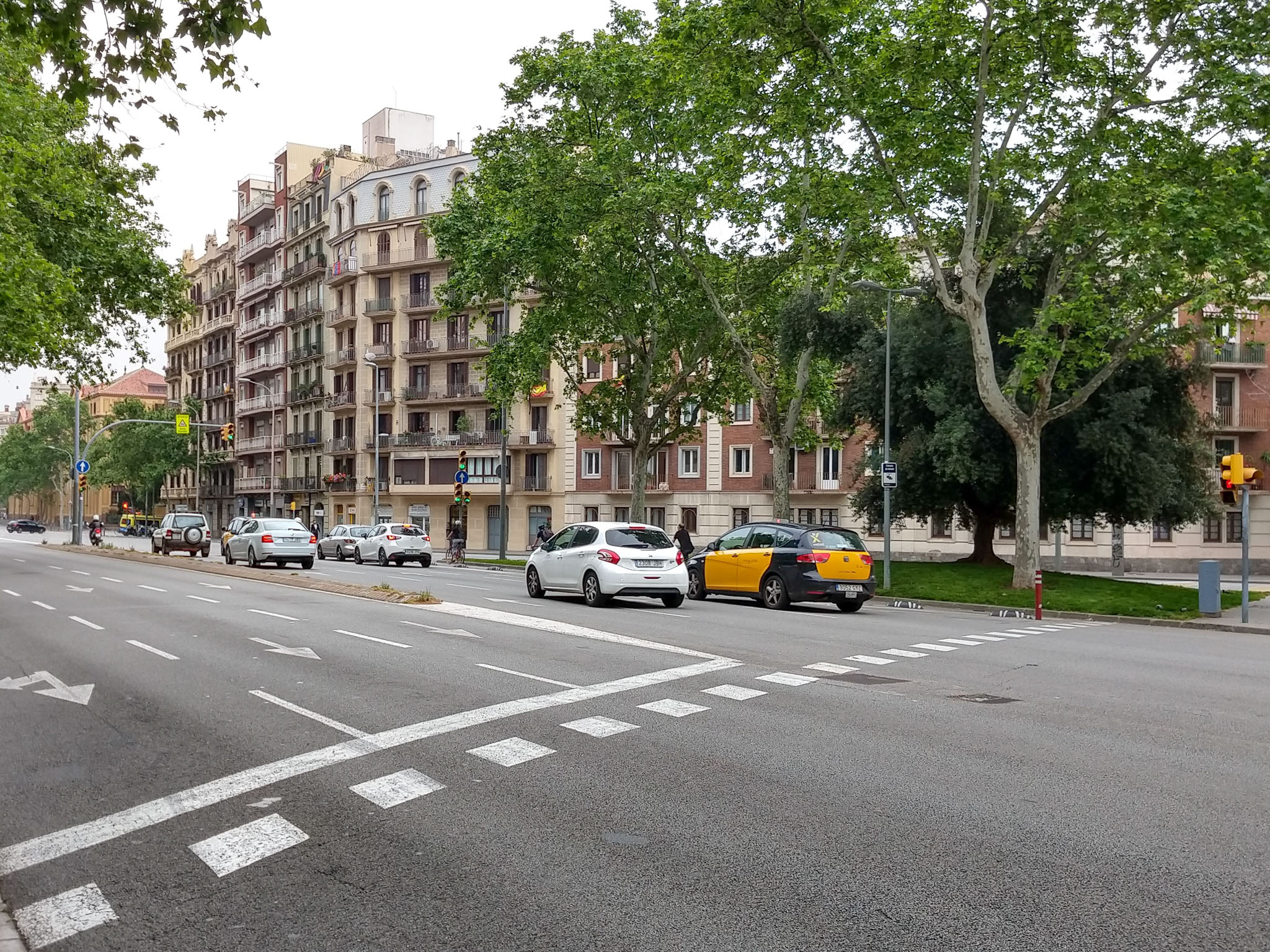 Cu Motorola Moto G6 Plus prin Barcelona-14