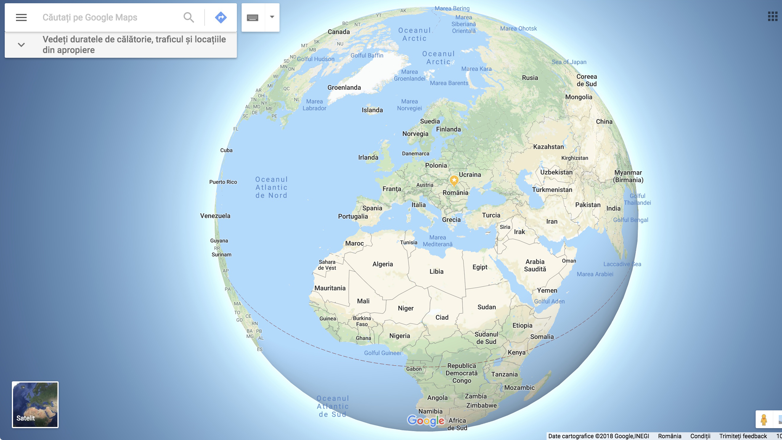 Cum A Desființat Google Maps Mitul Pămantului Plat Printr Un Update