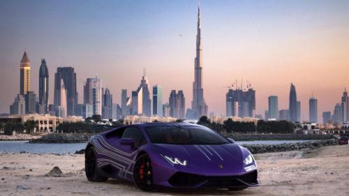 Lamborghini la Dubai: amenzi de circulație record în patru ore