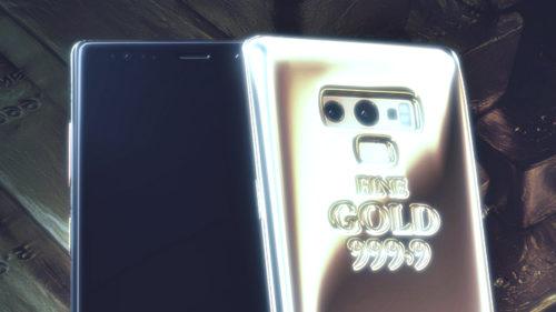 Samsung Galaxy Note 9 cu un kilogram de aur e un telefon absurd