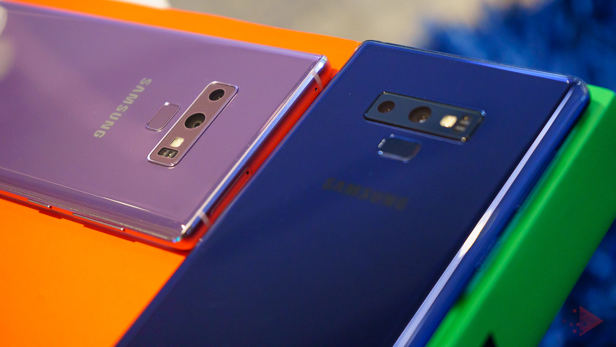 Samsung Galaxy Note 9 preview 5
