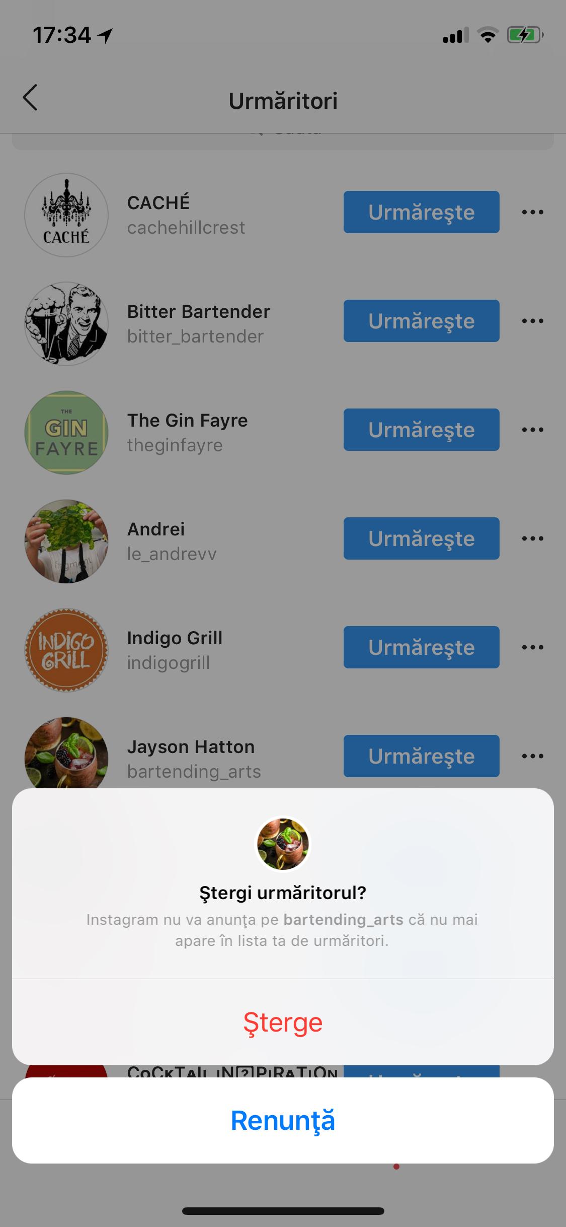 Trucuri Instagram Unfollow