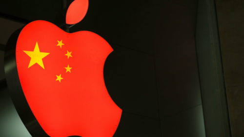 apple china aplicatii sterse