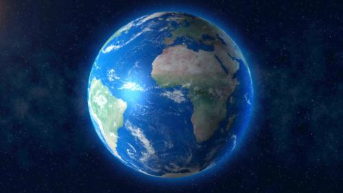 Cea mai nouă și mai exactă hartă a Pământului îți arată unde trăim
