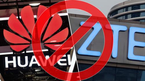 Huawei și ZTE au fost interzise tuturor angajaților guvernamentali din SUA