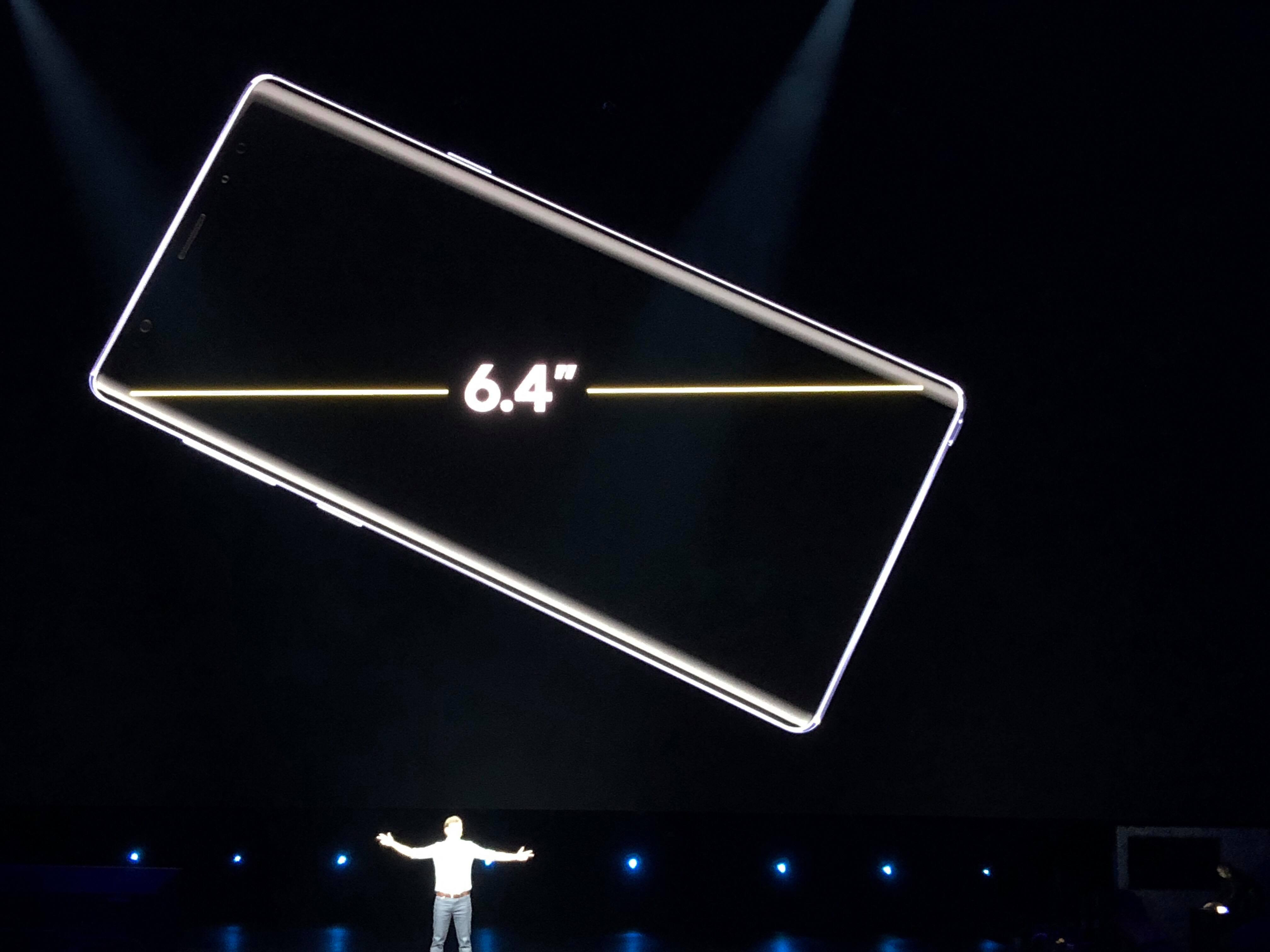 samsung galaxy note 9 ecran
