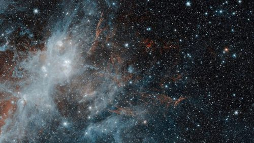Poza NASA cu resturile unei supernove îți arată că spațiul e operă de artă