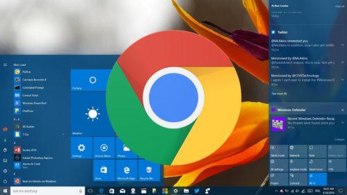 Google Chrome adoptă notificările din Windows 10 și vei avea de câștigat