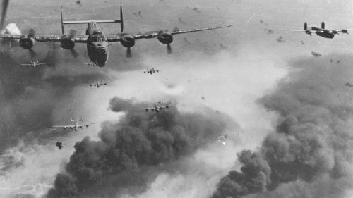 Al Doilea Război Mondial, responsabil pentru degradarea atmosferei