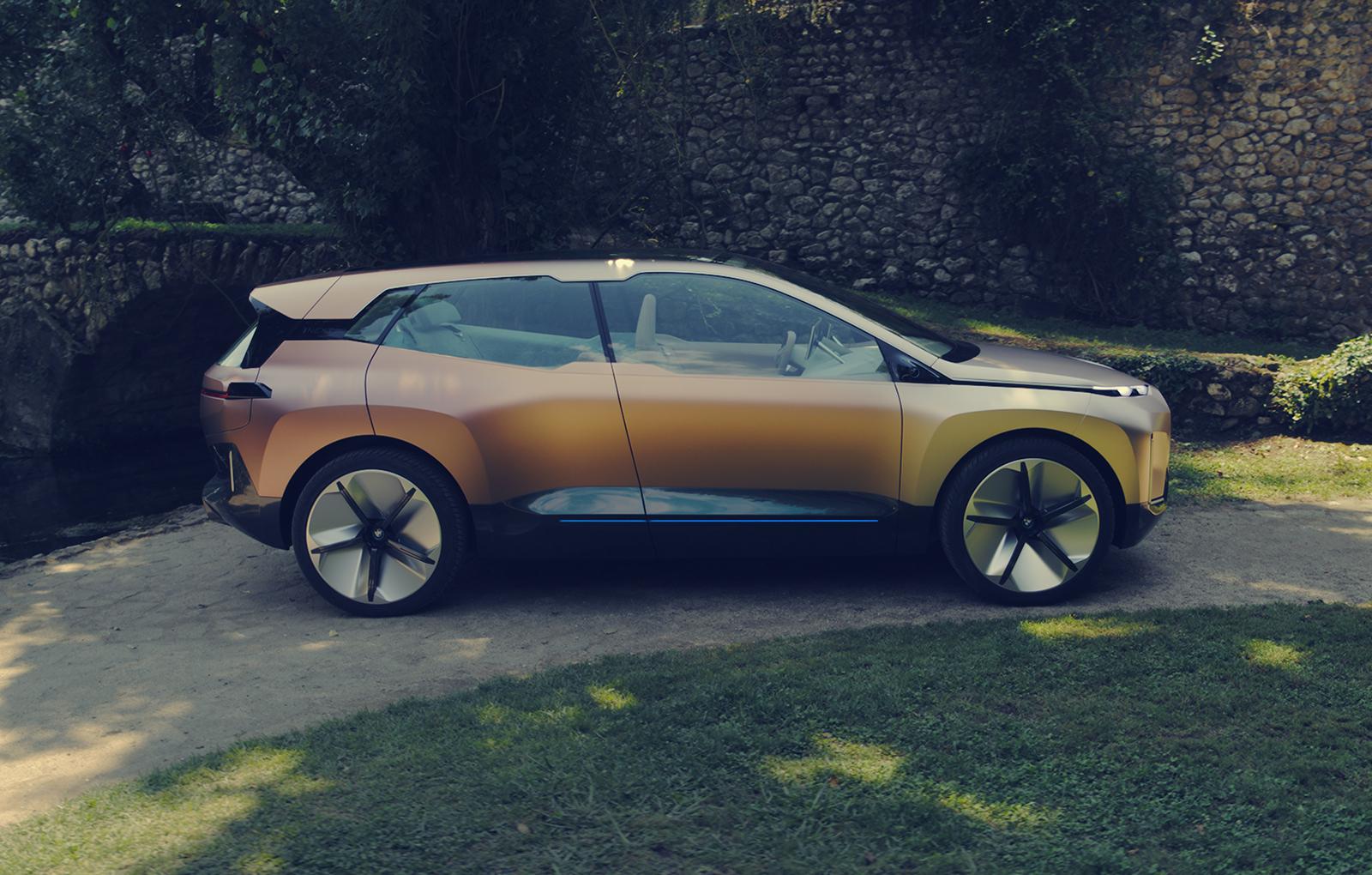 bmw vision inext masina electrica masina autonoma