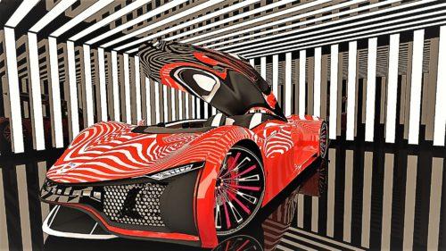 """EXCLUSIV Dacia """"The Vision"""", mașina românească mai frumoasă decât Ferrari"""