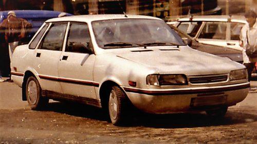"""Dacia Extase, mașina făcută din """"resturi"""" prin care s-a dorit americanizarea României"""