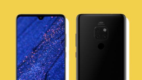 Cele mai noi imagini cu Huawei Mate 20 Pro îți arată ce să aștepți