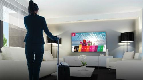 LG vrea să reinventeze statul la hotel și chiar să te bucuri de TV