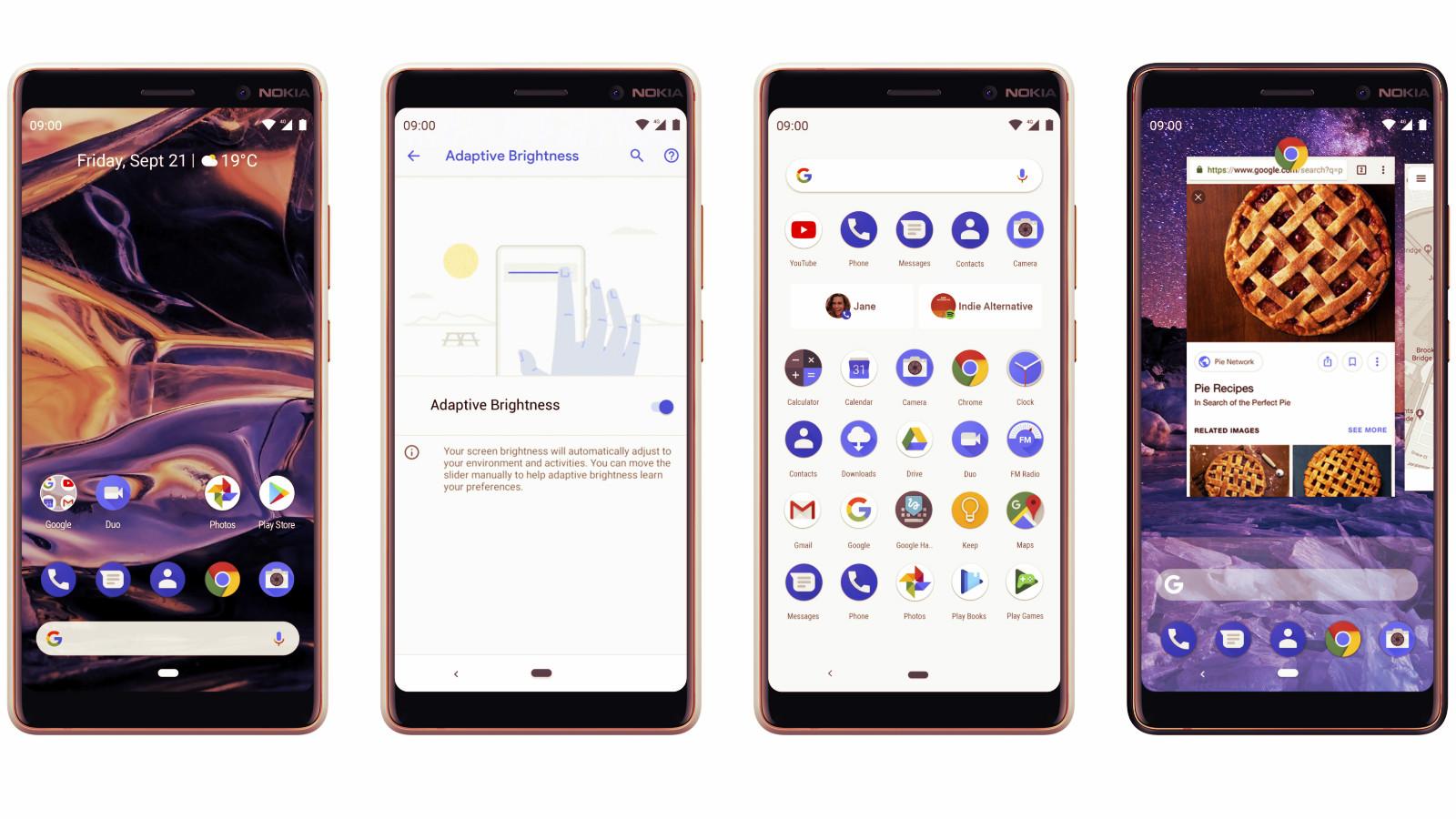Nokia 7 Plus cu Android Pie