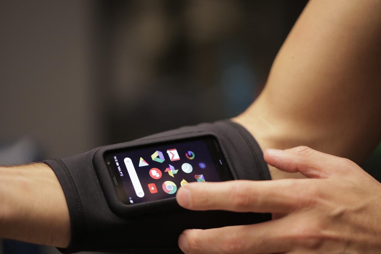 Palm, noul telefon cu Android. FOTO TechCrunch