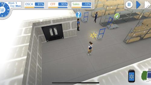 Jocul care te face angajat în depozitul unui magazin imens