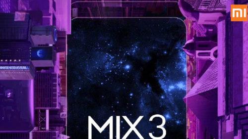 Xioami Mi Mix 3, un smartphone cu superlative: care vor fi premierele absolute