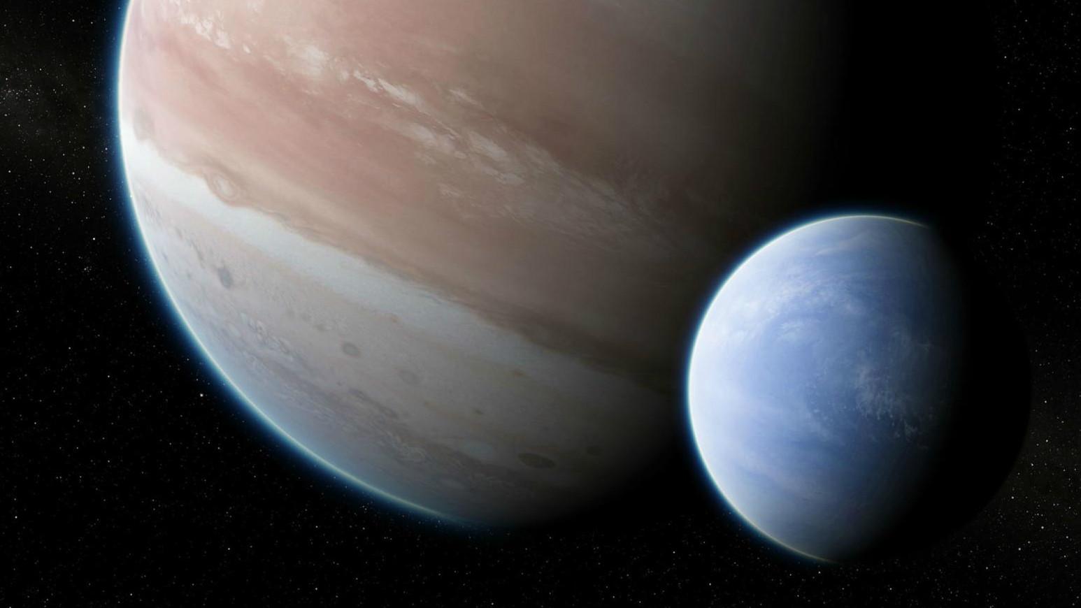 descoperire luna kepler neptun