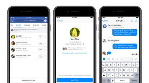 Facebook schimbă modul în care vorbești cu oamenii din grupuri