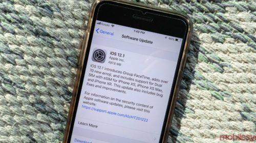 iOS 12.1, lansat oficial: apelurile Facetime nu vor mai fi niciodată la fel